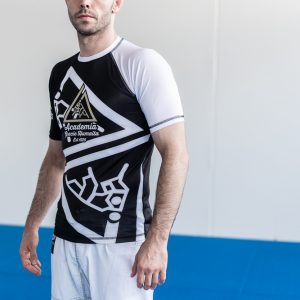 Short Sleeve white Rash guard
