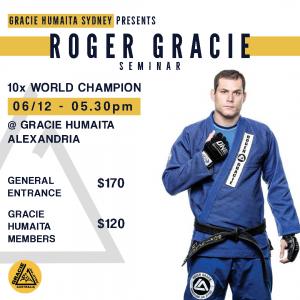 Roger Gracie Seminar