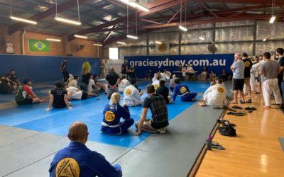 Gracie Sydney Internal White Belt Competition