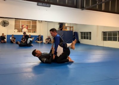 Setting Up Triangle From Close Guard