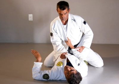 Breaking the Posture From Bottom Guard